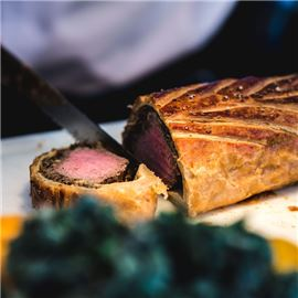 Vine Beef Wellington